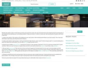 Seasonal Concepts Website
