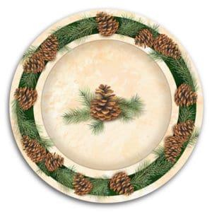 Cabela's Plate
